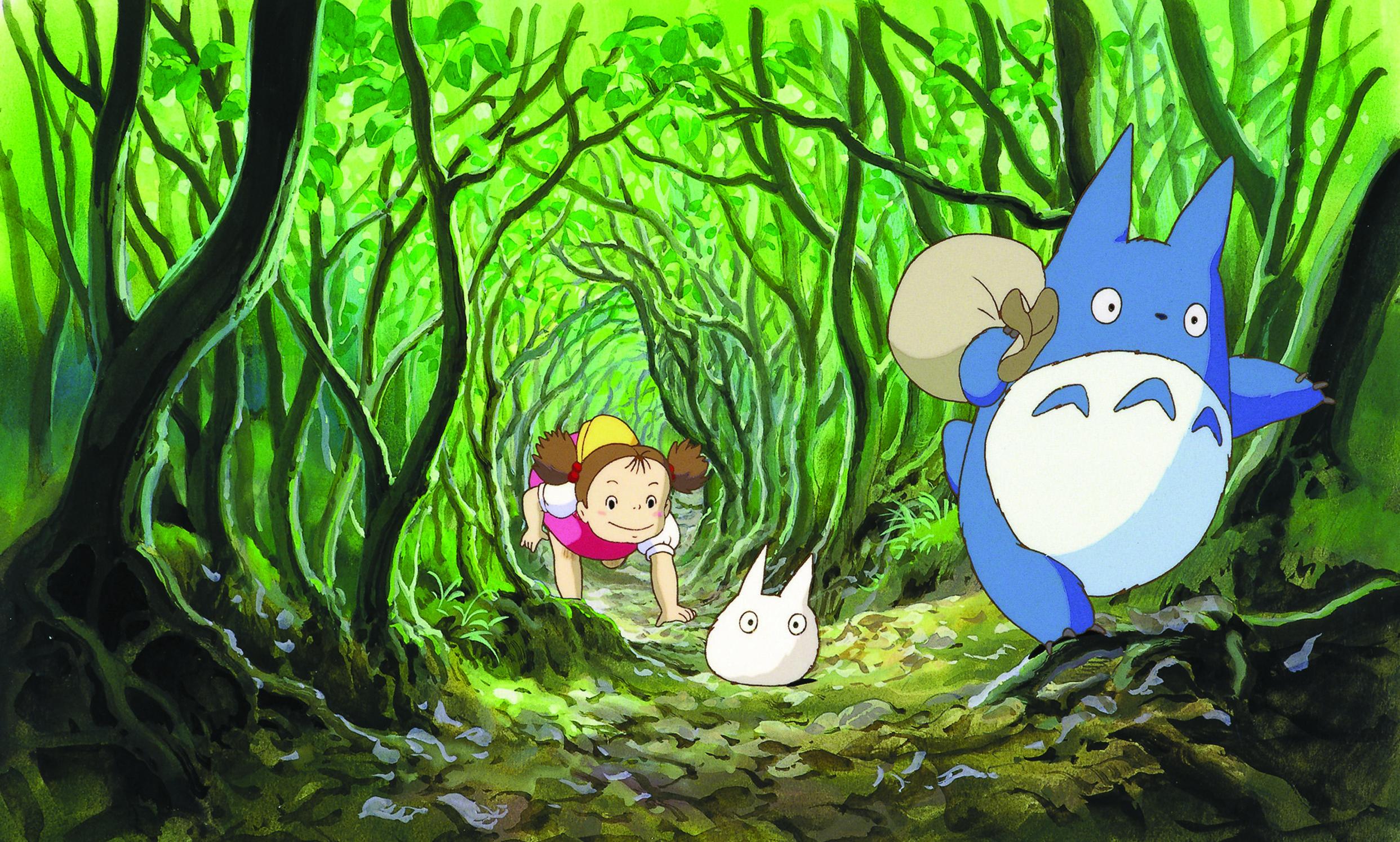 "Hayao Miyazaki's critically acclaimed ""My Neighbor Totoro"" screens on Sunday, July 10 at 3 p.m.."
