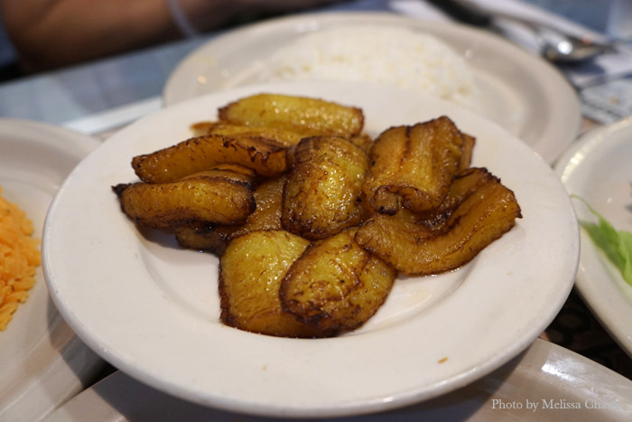 Sweet plantains, $3.50.