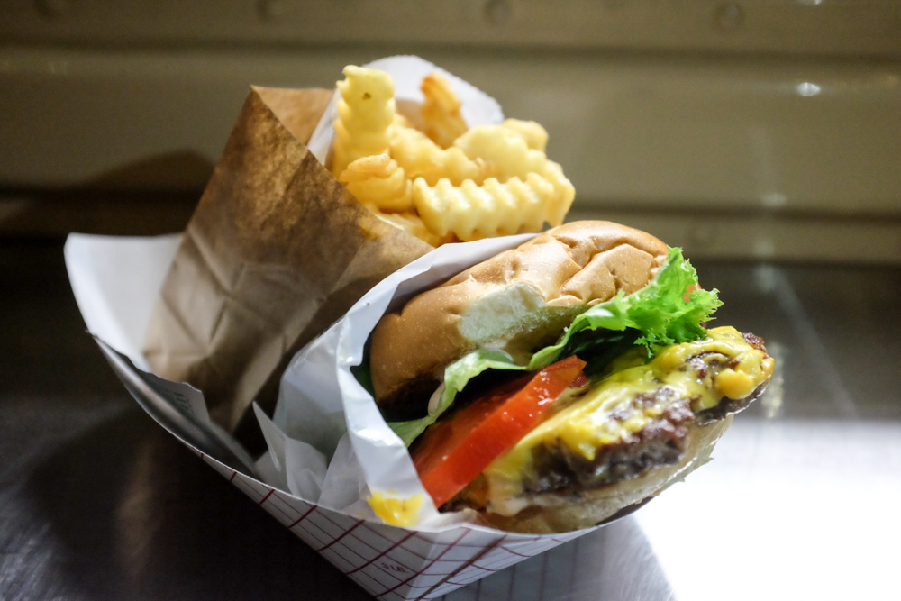 Items are sold a la carte, but a self-made combo of fries and a single 50's burger will set you back $10.