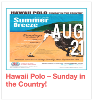 Hawaii Polo - Sunday in the Country