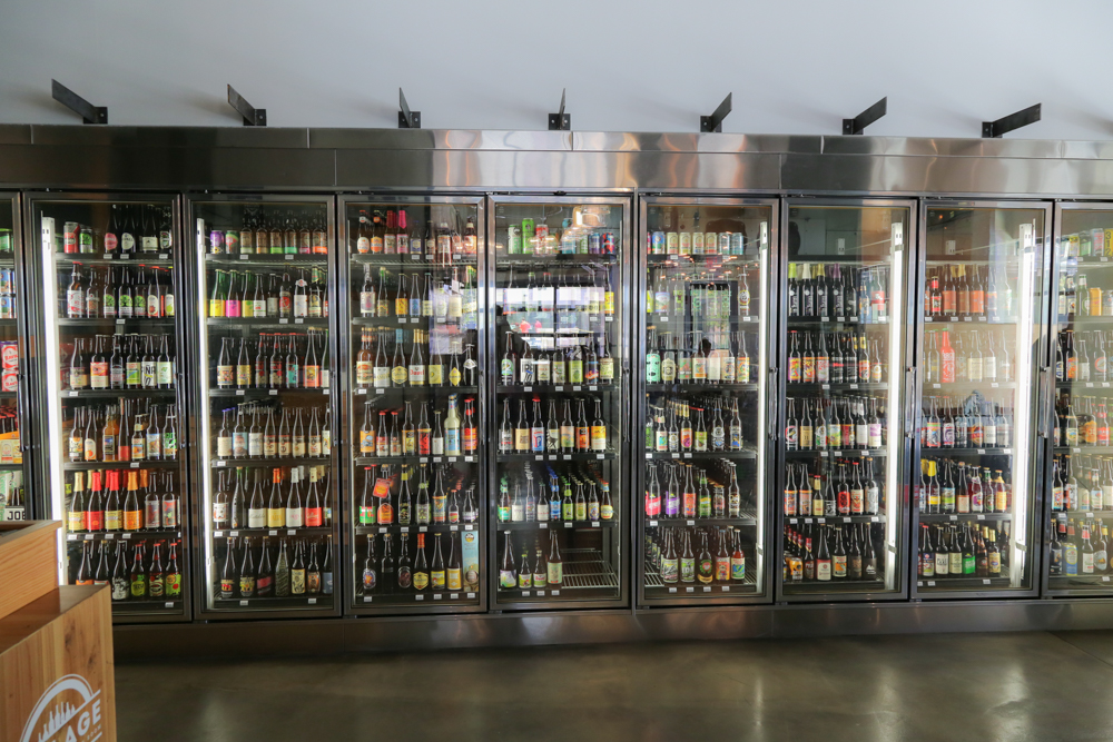 What: over 400 craft beers including very limited releases and highly allocated bottles usually available through beer clubs.
