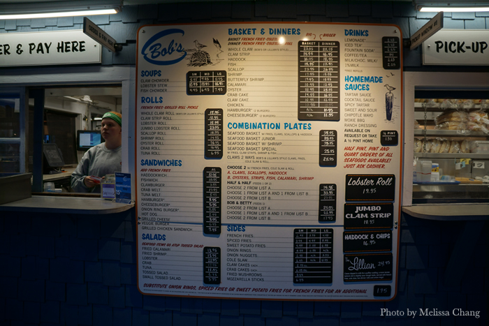 This is most of the menu. But you're here for clam strips!