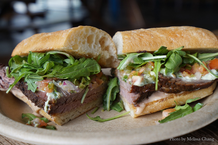 The Cali King, one of the specialty sandwiches at the pop up on September 25.