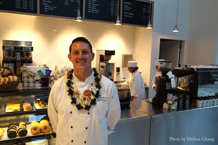Dean & Deluca Waikiki General Manager Luke Blubaugh.