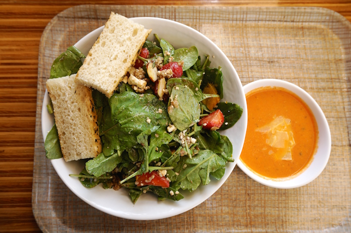 roasted-kabocha-squash-and-strawberry-salad-8-95-tomato-bisque-soup-4
