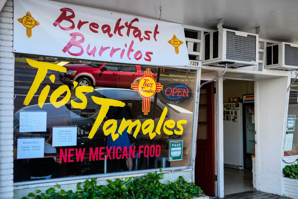 You'll find Tio's Tamales on Nuuanu in the same building at Sala Thai and Nuuanu Okazuya. Metered street parking out front is your best bet for a stall, so bring quarters.