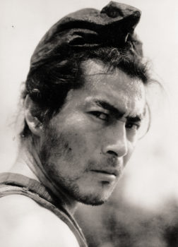 Mifune in 'Rashomon'