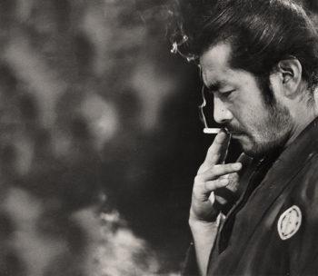 Mifune in YOJIMBO