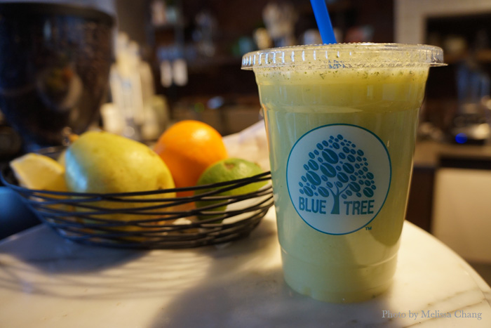 "Blue Tree's ""The Cleanse,"" $8.45 for 16 oz."