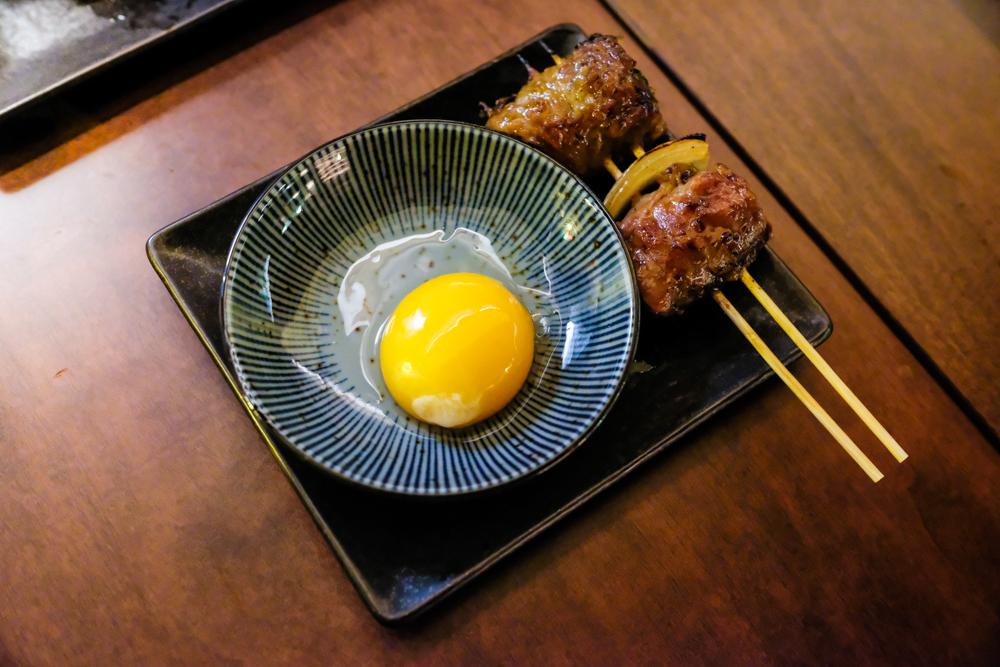 yakitori hachibei chinatown - sukiyaki