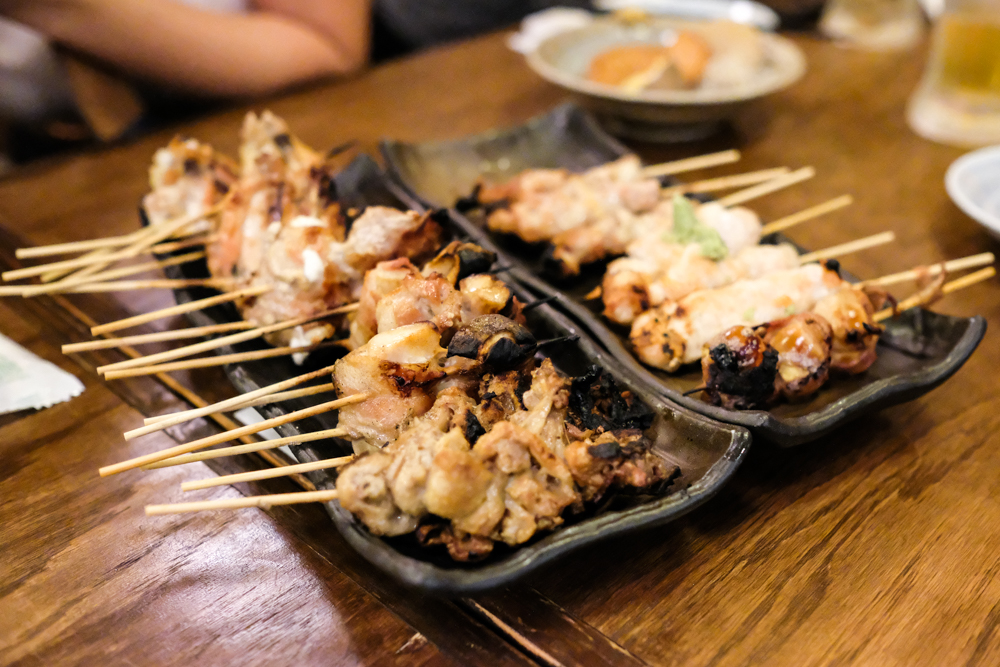 With most skewers just $1.90, we had a little trouble controlling our impulses. This was round one.