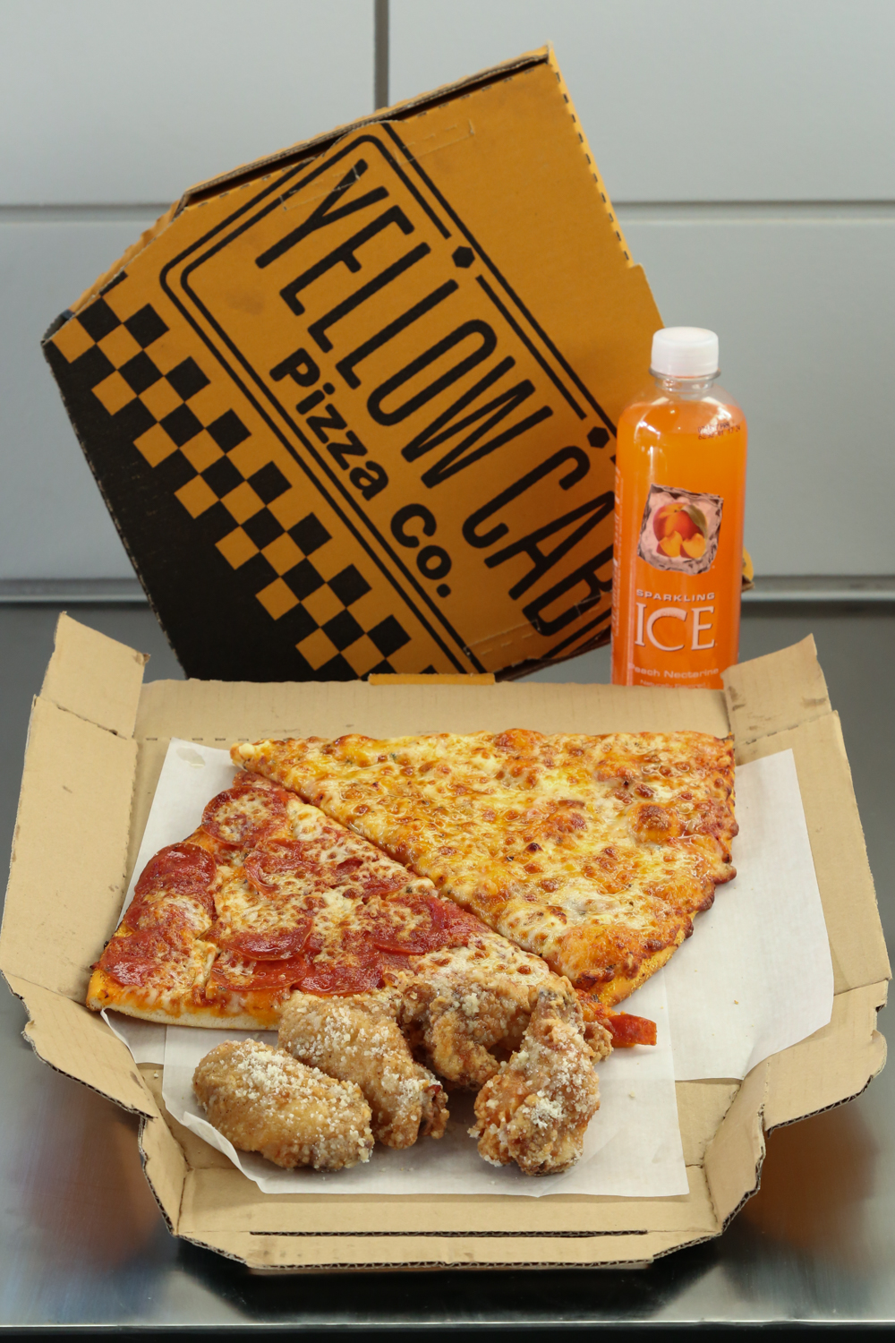 Yellow Cab Pizza Hawaii Combo