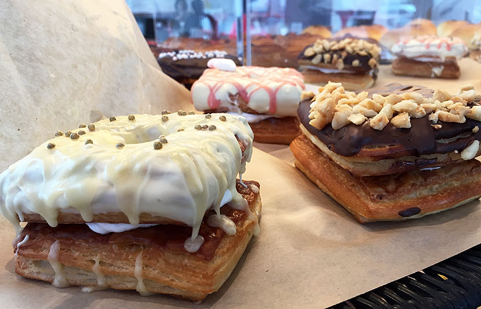 Cronut ($3.75) flavors range from fruity (lilikoi) to indulgent (chocolate).