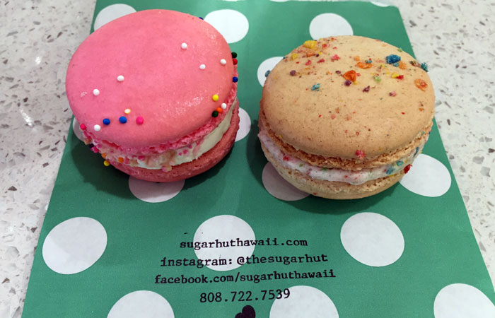 Fruity Pebbles and Circus Animal Cookie are the two top macaron flavors.