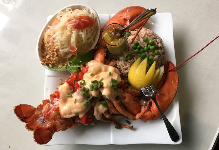 Chao Phya Thai - Kona Kold Fresh Lobster