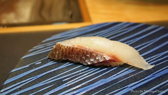 "He includes slices from ""regular"" sushi bar fish, but every bite is fresh and clean, and a cut above."