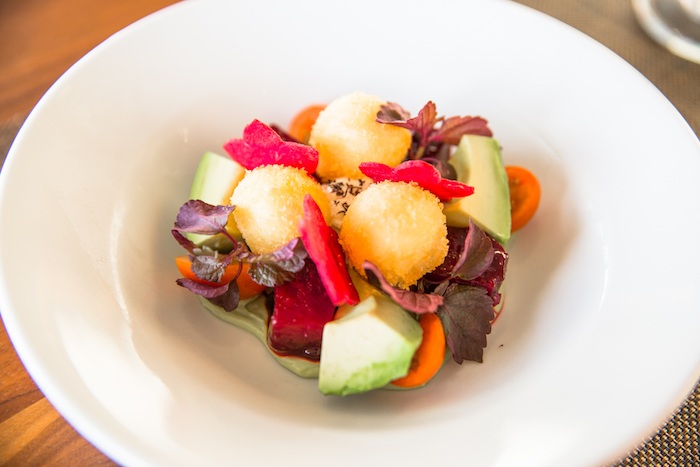 Top of Waikiki -Beet, Avocado & Goat Cheese Salad