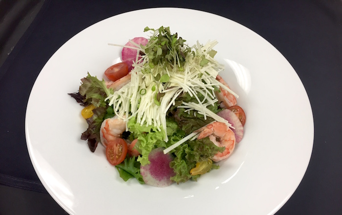 Wai'olu Lounge - Heart of Palm Shrimp Salad