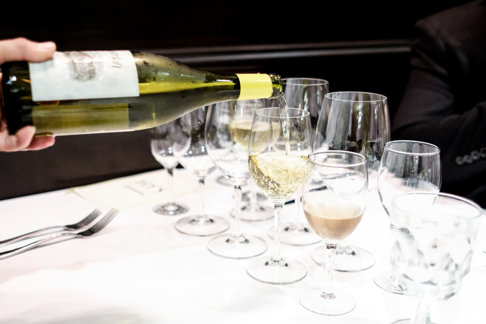 The second wine, a 2014 Jordan Winery chardonnay, hails from California's Russian River Valley.