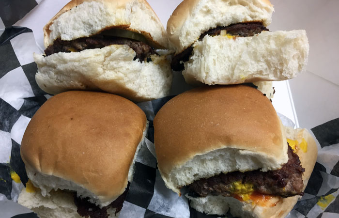 The Second city sliders ($6) are the best bang for your buck, since each order includes four sliders and fries.