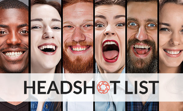 Introducing the Headshot List