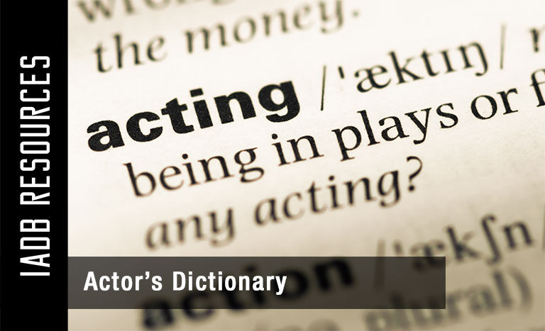 Actor's Dictionary