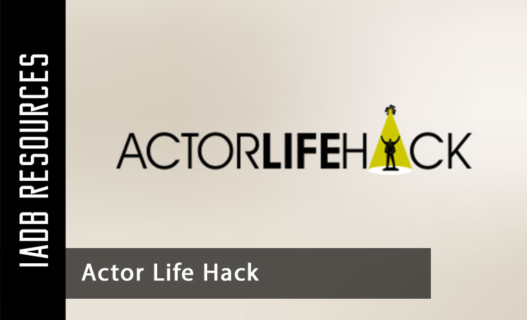 ActorLifeHack.com offers effective and inspiring information for actors.Through...