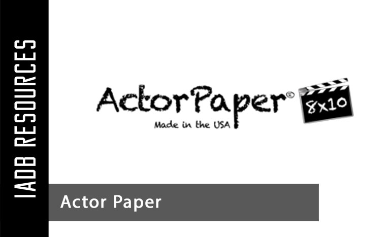 Printing in Online - Actor Paper