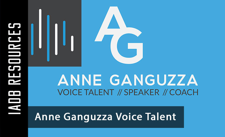 Voice Acting in Los Angeles - Anne Ganguzza Voice Talent