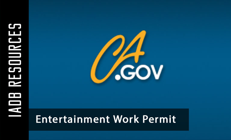Junior Actors in California - Entertainment Work Permit