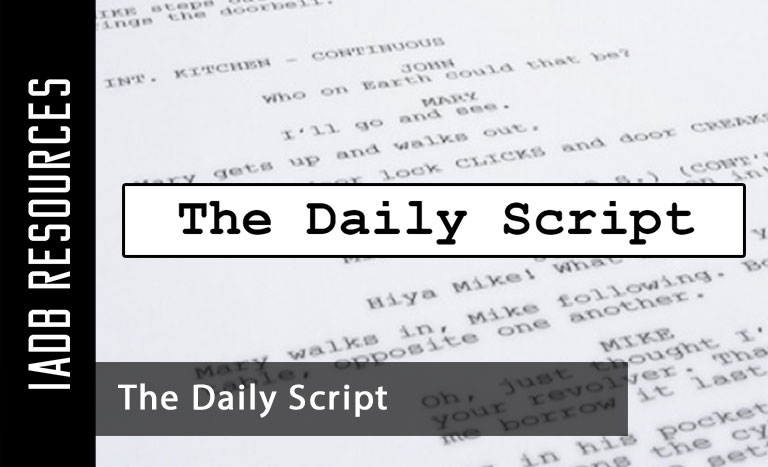 Welcome to the Daily Script, a collection of movie scripts and screenplays to serve as a...