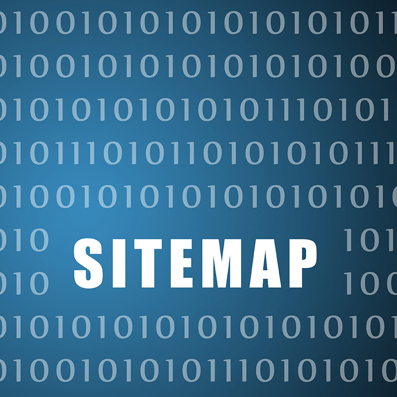 Sitemap is the menu for search engines