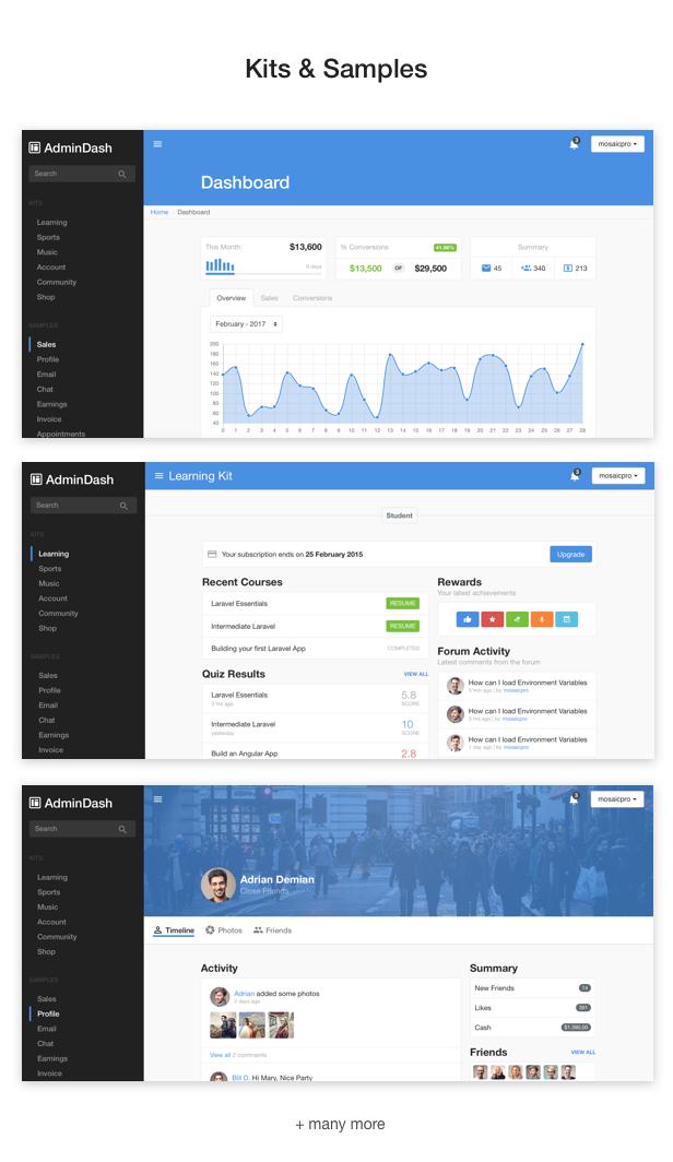 AdminDash - Bootstrap Admin Template