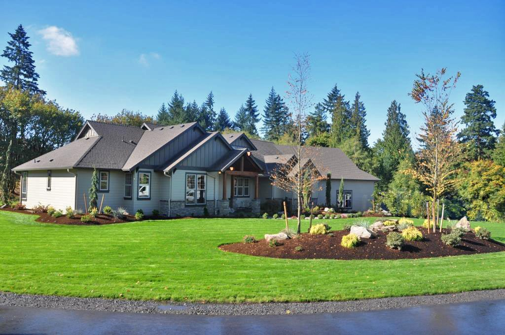 Miles Parade of Homes front yard lawn irrigation flowerbed installation curb appeal