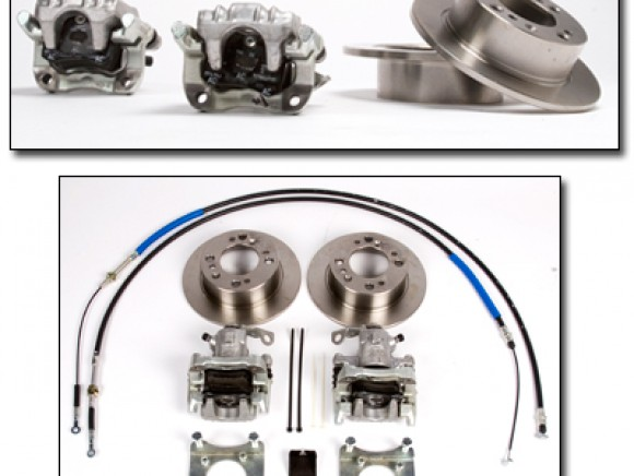 Sprite and Midget rear disc brake kit
