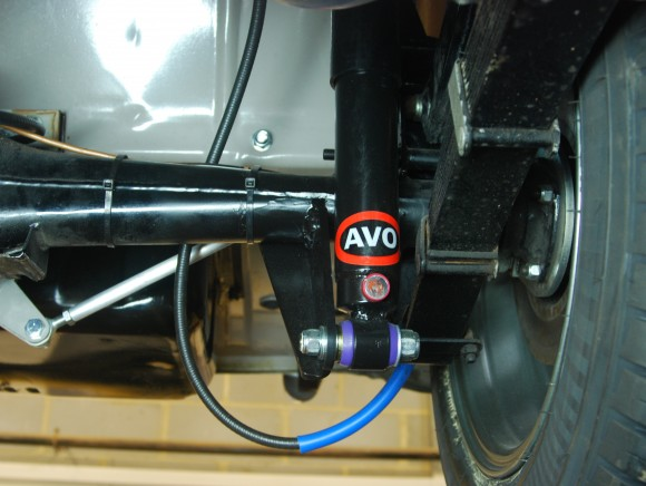 RS1 Rear Suspension Kit Quarter elliptic