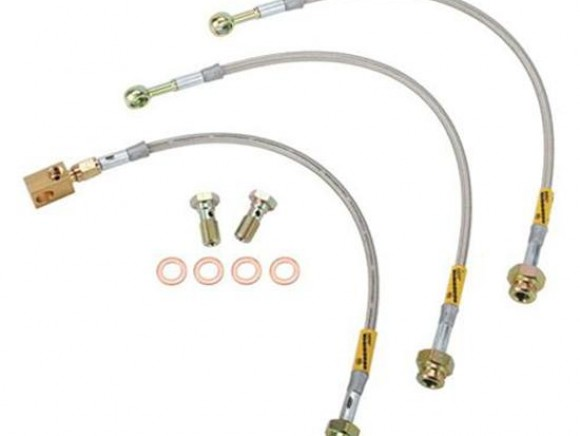 Braided brake hose kit