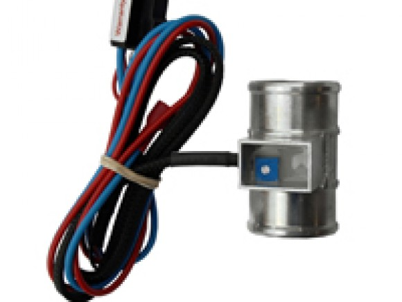 Thermostatic fan controller and wiring kit