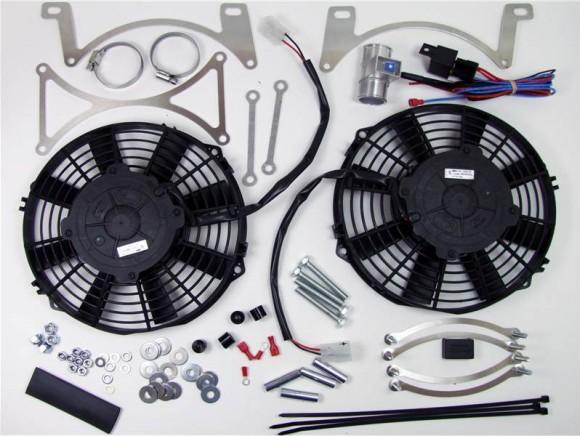 High power cooling fan kit