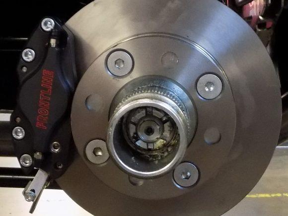 MGB Rear disc brake conversion