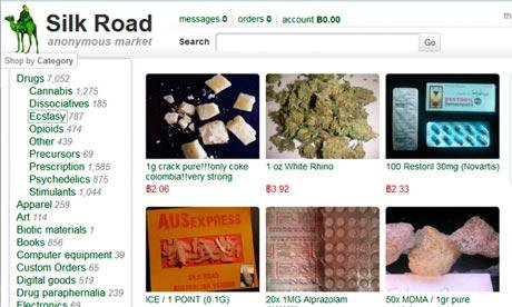 Silk Road site