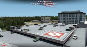 Sibley Memorial Hospital Helipad
