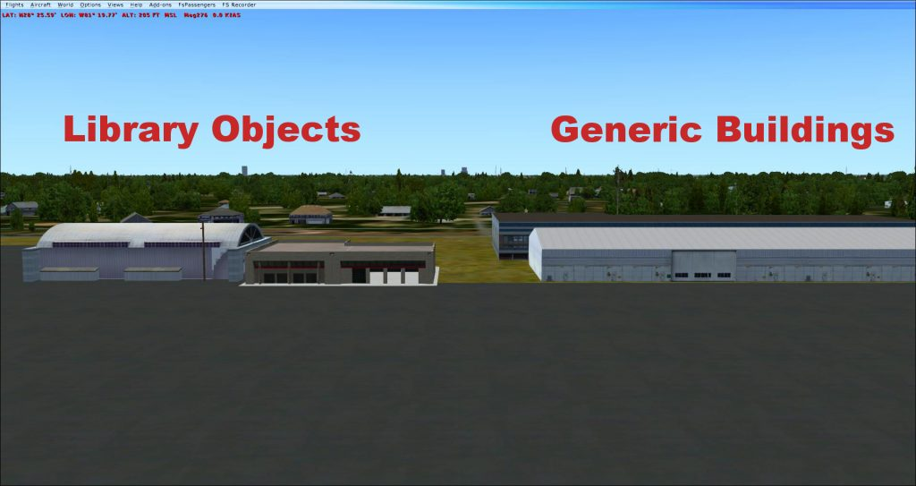 Library objects or Generic buildings