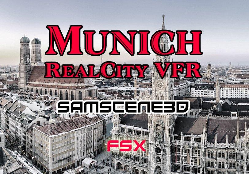 SamScene Munich RealCity VFR