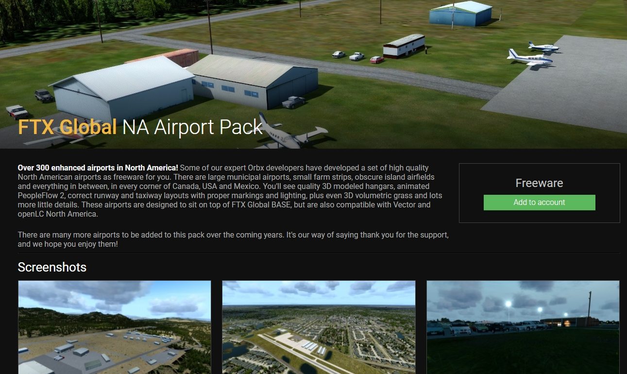 New FTX Global North & South America Freeware Available