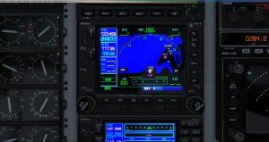 Flight 1 GNS530 NAV