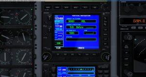 Flight 1 GNS530 Vnav