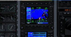 Flight 1 GNS530 DF