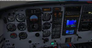 Flight 1 GNS530 CF to waypoint