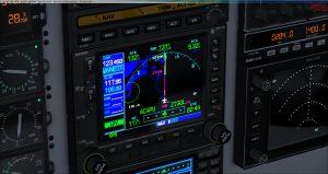 Flight 1 GNS530 Intermediate leg